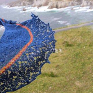 Châle Ultramarine - Nim Teasdale Designs