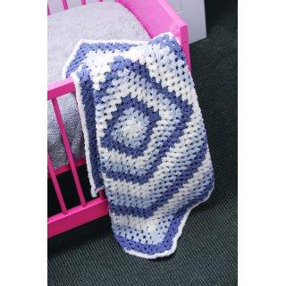 Accessoire bébé Modèle couverture au crochet 104-12