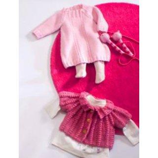 Robe bébé Modèle robe à torsades 66-51