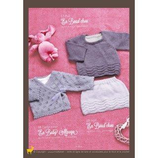 Gilet bébé Modèle cache-coeur 94-18