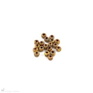 Perles de rocaille Perles rocailles 6/0 Opaque Brown Picasso 4517