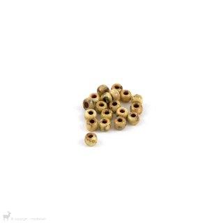 Perles de rocaille Perles rocailles 6/0 Opaque Yellow Picasso 4512