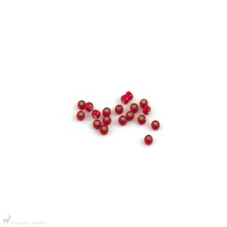 Perles rocailles 8/0 Silverlined Flame Red 10 - Miyuki