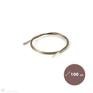 Aiguilles interchangeables Câble Addi Basic pour embouts Addi Click 100cm