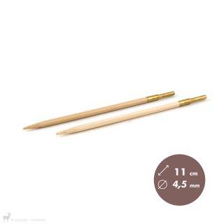 Embouts aiguilles circulaires Bambou Click 4,5mm