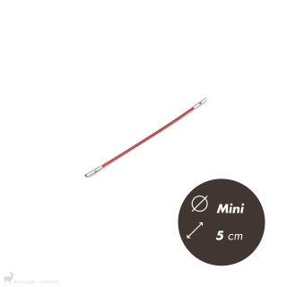 Matériel Chiaogoo Câble Twist Rouge 5cm Mini
