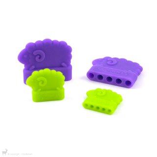 Petit matériel Bouchons pour aiguilles double pointe (Petit)