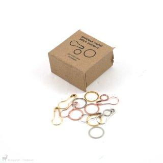 Assortiment anneaux marqueurs précieux