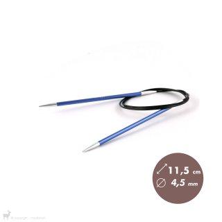 Aiguilles circulaires fixes 100cm Zing 4,5mm