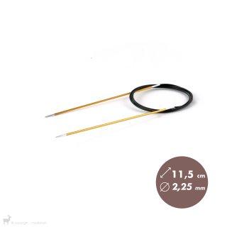 Aiguilles circulaires fixes 120cm Zing 2,25mm
