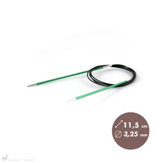Aiguilles circulaires fixes 120cm Zing 3,25mm