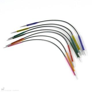 Aiguilles circulaires fixes Zing 25cm - KnitPro