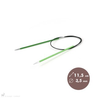 Aiguilles circulaires fixes Aiguilles circulaires fixes 60cm Zing 3,5mm