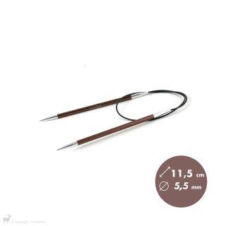 Aiguilles circulaires fixes 60cm Zing 5,5mm