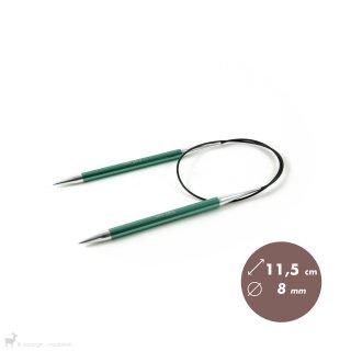 Aiguilles circulaires fixes 60cm Zing 8mm