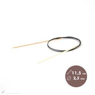 Aiguilles circulaires 80cm Bamboo 2,5mm