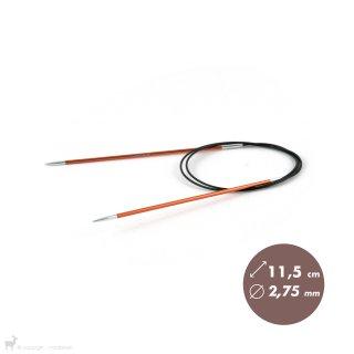 Aiguilles circulaires fixes 80cm Zing 2,75mm - KnitPro