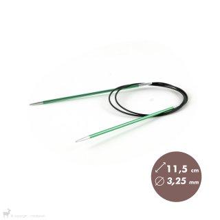 Aiguilles circulaires fixes 80cm Zing 3,25mm