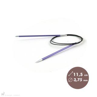 Aiguilles circulaires fixes Aiguilles circulaires fixes 80cm Zing 3,75mm