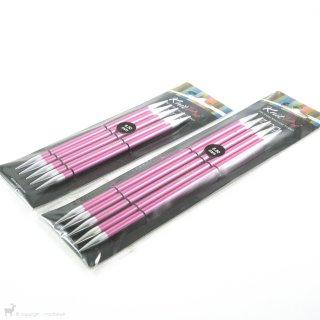 Aiguilles double pointe Zing 20cm 3,5mm - KnitPro