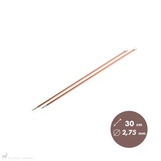 Aiguilles droites Aiguilles Zing KnitPro 30cm/2,75mm