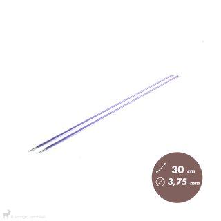Aiguilles droites Aiguilles Zing KnitPro 30cm/3,75mm