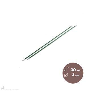 Aiguilles droites Aiguilles Zing KnitPro 30cm/3mm