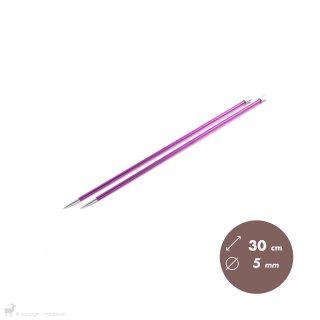 Aiguilles Zing KnitPro 30cm/5mm