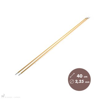Aiguilles Zing KnitPro 40cm/2,25mm - KnitPro
