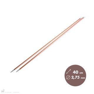 Aiguilles droites Aiguilles Zing KnitPro 40cm/2,75mm