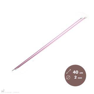Aiguilles droites Aiguilles Zing KnitPro 40cm/2mm
