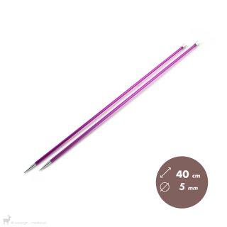 Aiguilles Zing KnitPro 40cm/5mm