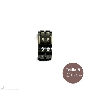 Mercerie Compte-rang bague Taille 8