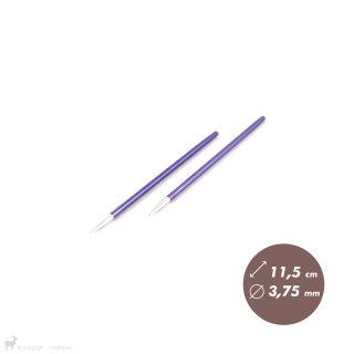 Embouts aiguilles circulaires Zing 3,75mm