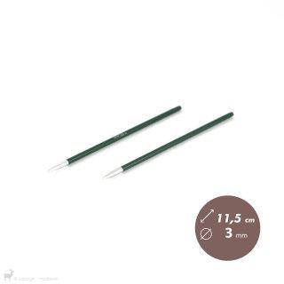 Aiguilles interchangeables Embouts aiguilles circulaires Zing 3mm