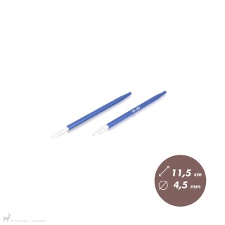 Embouts aiguilles circulaires Zing 4,5mm