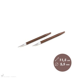 Embouts aiguilles circulaires Zing 5,5mm
