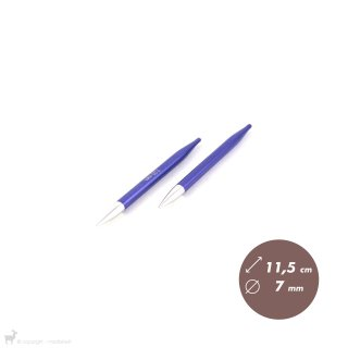 Embouts aiguilles circulaires Zing 7mm
