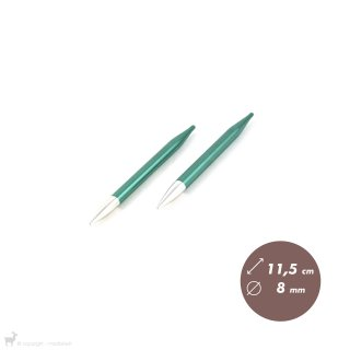 Embouts aiguilles circulaires Zing 8mm
