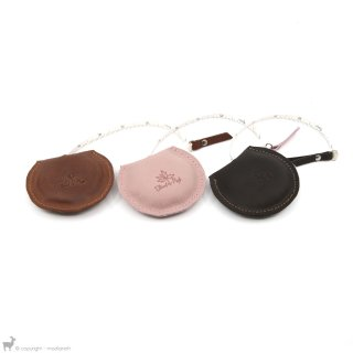 Petit matériel Thread And Maple Mètre ruban en cuir Chocolate