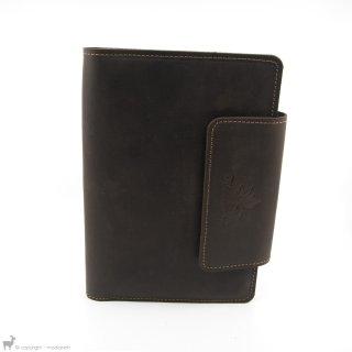 Petit matériel Thread And Maple Pochettes à accessoires complète en cuir Chocolate/Whiskey