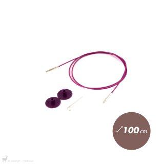 Câble aiguille circulaire 100cm