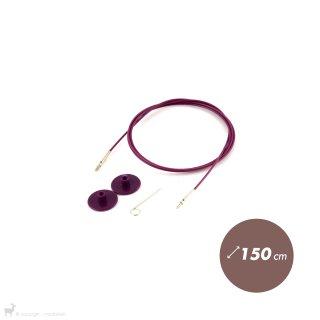 Aiguilles interchangeables Câble aiguille circulaire 150cm