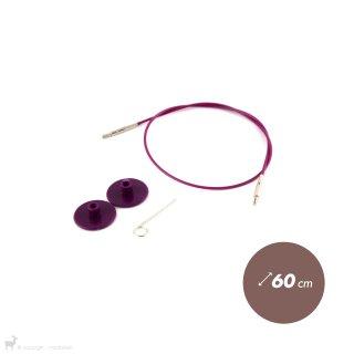 Câble aiguille circulaire 60cm