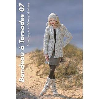 Modèle femme Modèle de bandeau à torsades 92-07