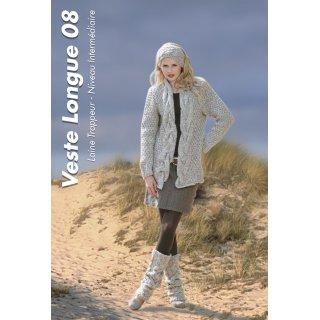 Veste femme Modèle de veste longue 92-08