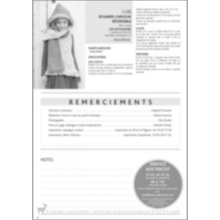 Accessoire enfant Echarpe capuche réversible 99-35