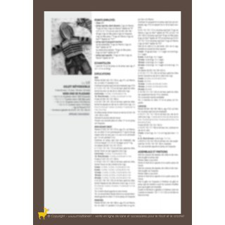 Modèle gilet réversible 94-28 - Plassard
