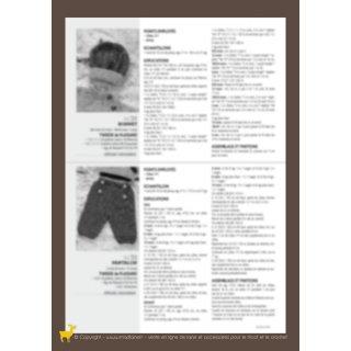 Bonnet bébé Modèle bonnet 94-32