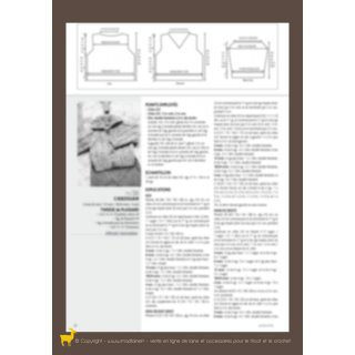 Modèle cardigan 94-35 - Plassard